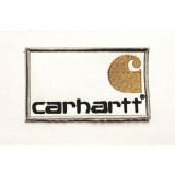 embroidery  patch  CARHARTT 8cm x 3cm