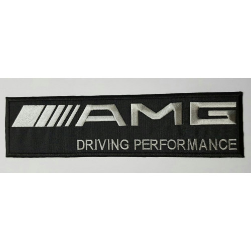 Patch embroidery AMG 10cm x 2,5cm