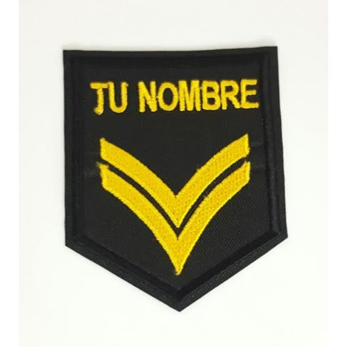Patch embroidery GALON SARGENTO MAYOR   5cm x 9cm