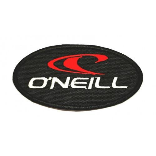 Parche bordado  O'NEILL NEGRO 8,5cm x 4,5cm