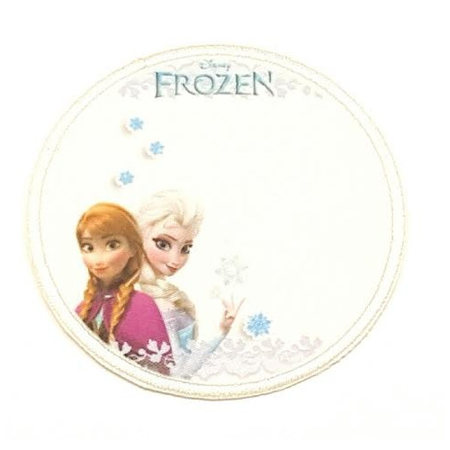 Embroidery Patch SNOW FROZEN  7,4cm