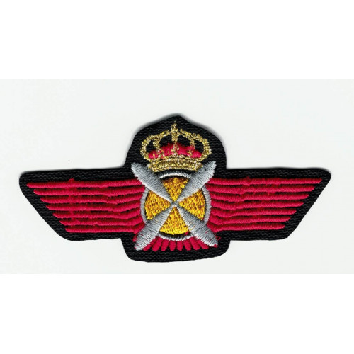 Parche bordado NAVAL AVIATION 8cm x 3,5cm