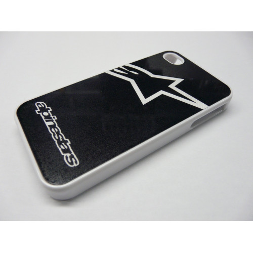 IPHONE 5 ALPINESTARS LOGO WHITE