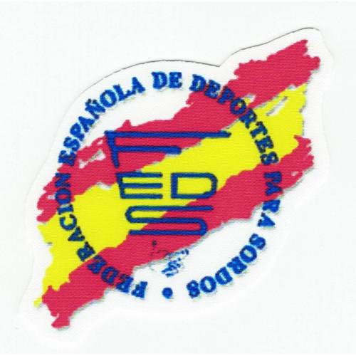 FEDERACIÓN  ESPAÑOLA DE DEPORTES PARA SORDOS   8cm x 8cm