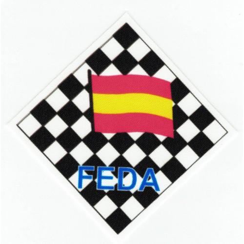 FEDERACIÓN  ESPAÑOLA DE  AJEDREZ 8.5cm x 8,5cm