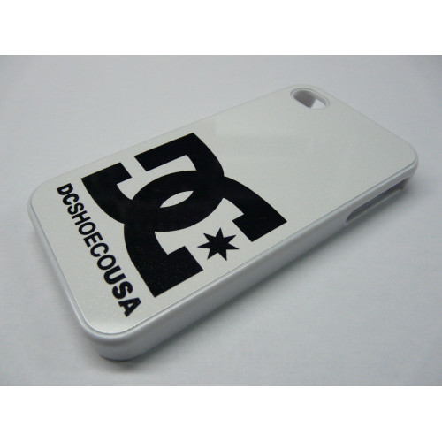 IPHONE 5 DC SHOES WHITE