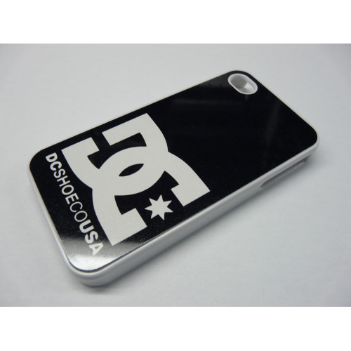 IPHONE 5 DC SHOES WHITE AND BLACK