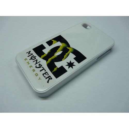 IPHONE 5 DC SHOES MONSTER ENERGY WHITE