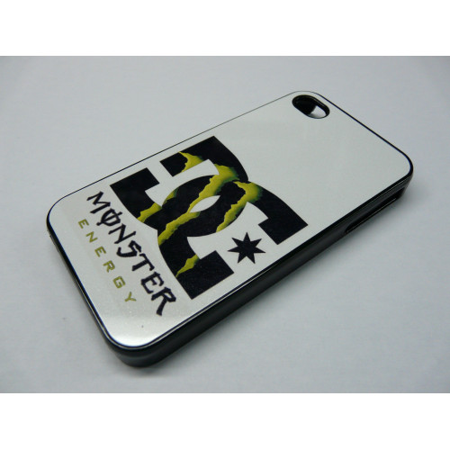 IPHONE 5 DC SHOES MONSTER ENERGY BLACK AND WHITE