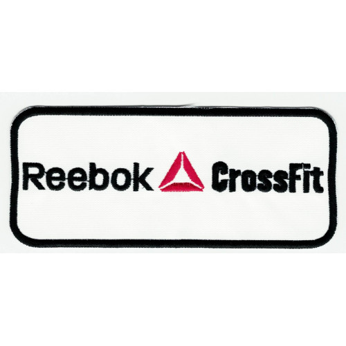 embroidery  patch  CROSSFIT FORGING ELITE FITNESS  22cm x 10cm