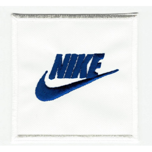 BLUE NIKE  embroidery patch 6cm x 6cm