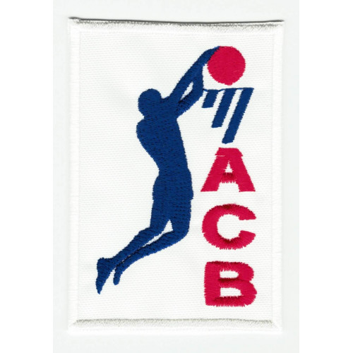 Textile patch NBA 4,5cm x 2cm