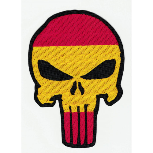 embroidery patch  SKULL The Punishe 21cm x 15cm