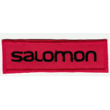 Embroidered patch  RED SOLOMON 8cm x 2,5cm