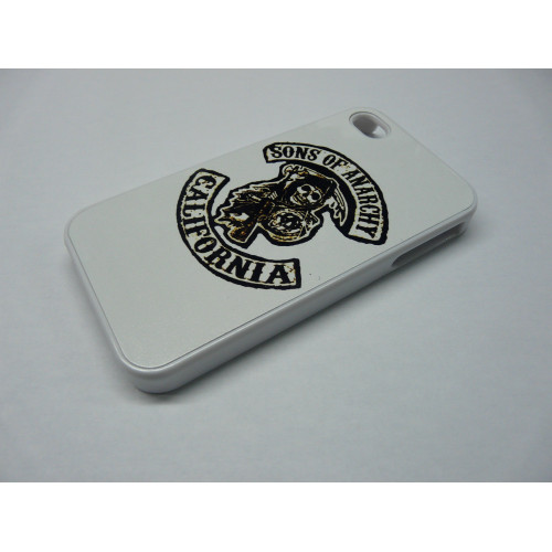 IPHONE 5 SONS OF ANARCHY WHITE