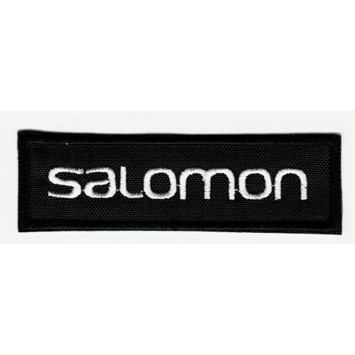 Embroidered patch  BLACK SALOMON  24,5cm x 7cm