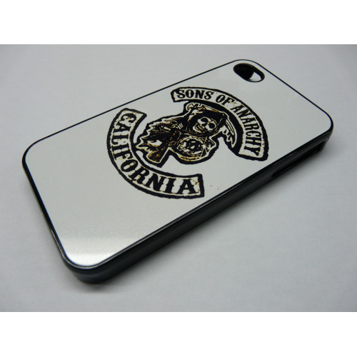 IPHONE 5 SONS OF ANARCHY BLACK AND WHITE