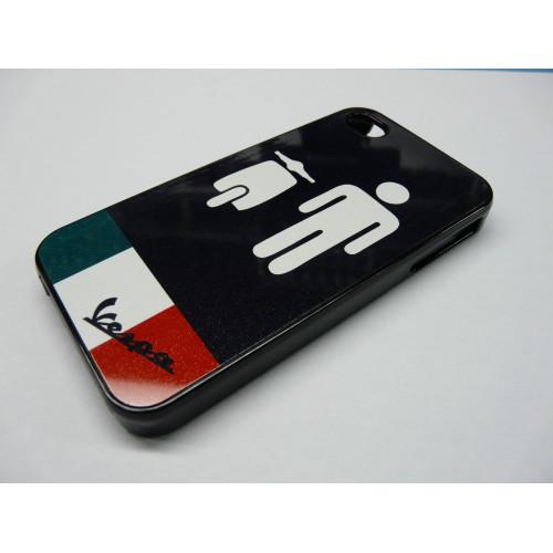 IPHONE 5 VESPA ITALIA  NEGRA