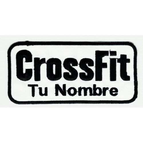 embroidery  patch  CROSSFIT FORGING ELITE FITNESS  11cm x 5cm
