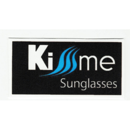 Textile patch KISSSME SUNGLASSES 7,5cm x 4cm