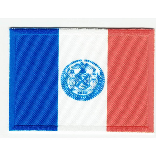 Parche bordado y textil BANDERA NEW YORK 4CM x 3CM