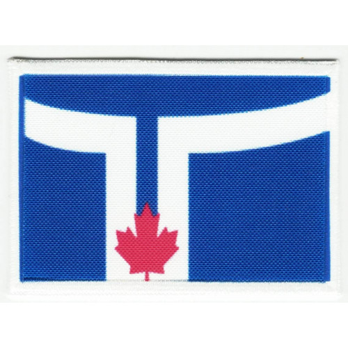 Patch embroidery and textile FLAG  SHAWNEE 4CM x 3CM