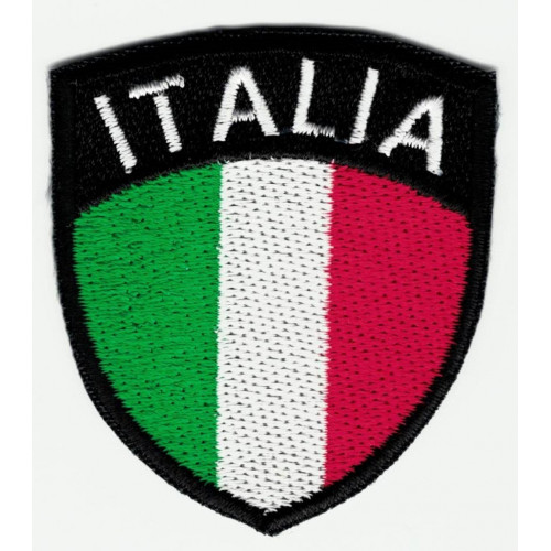 Patch embroidery  SHIELD ITALY 5cm x 6cm
