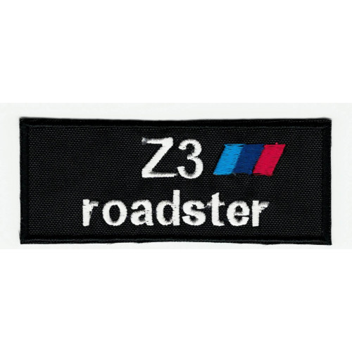 Parche bordado  BMW Z3 ROADSTER  9cm x 3,5cm