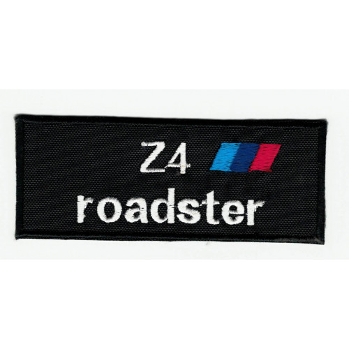Parche bordado  BMW Z4 ROADSTER  9cm x 3,5cm
