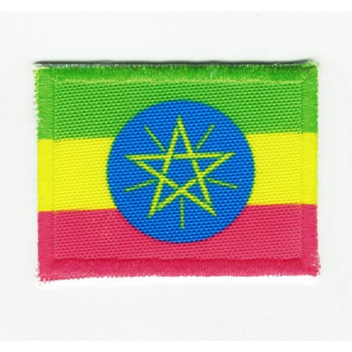 Patch embroidery and textile ETIOPIA 7cm x 5cm