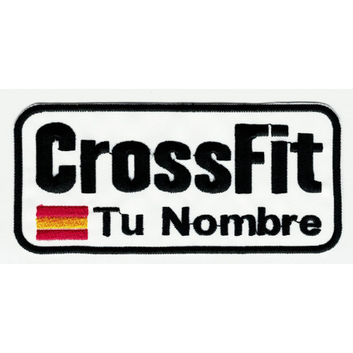Parche bordado CROSSFIT TU...