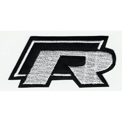 Embroidered patch VOLKSWAGEN R 7,5cm X 3,5cm