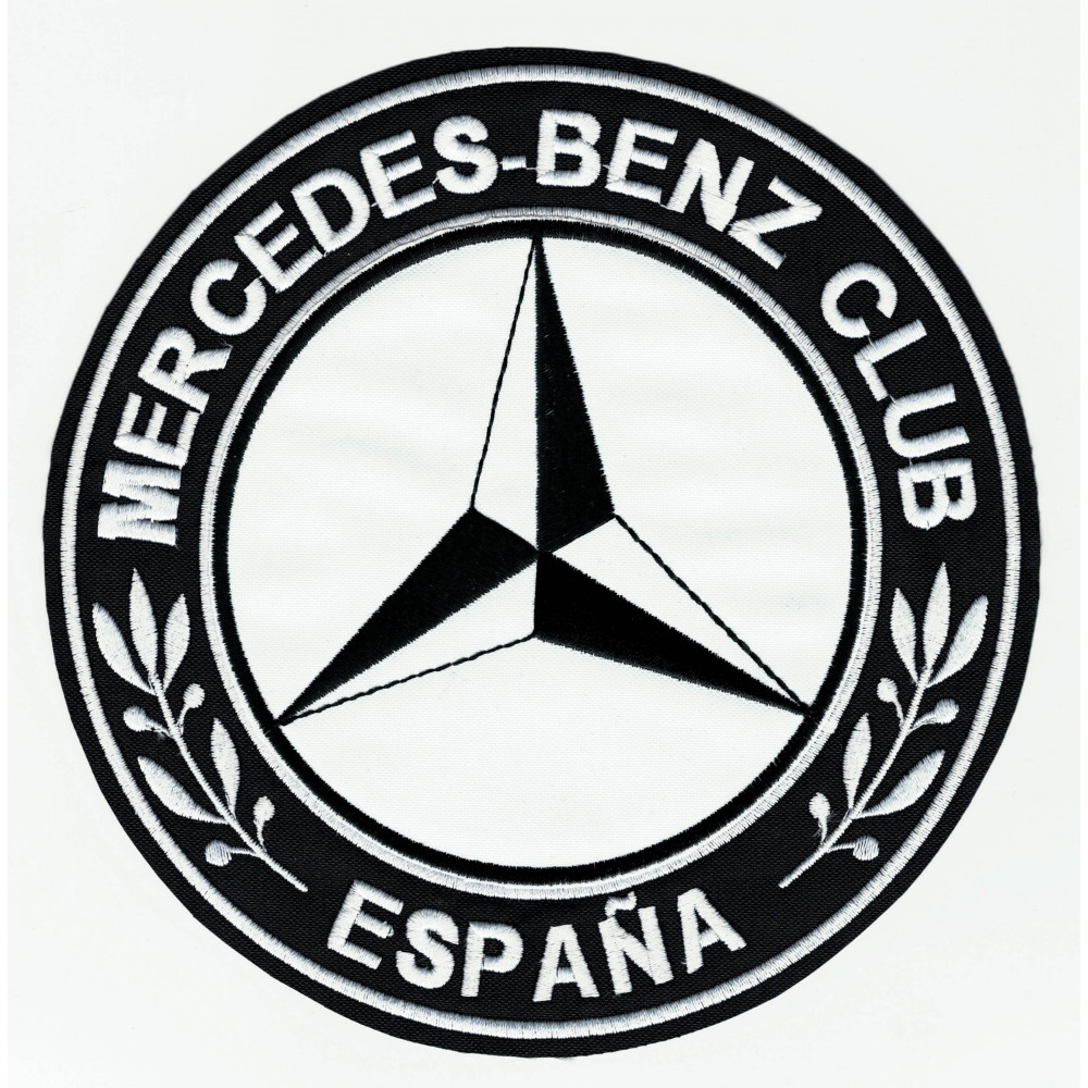 Patch Embroidery Mercedes Benz Club Espaa 45cm