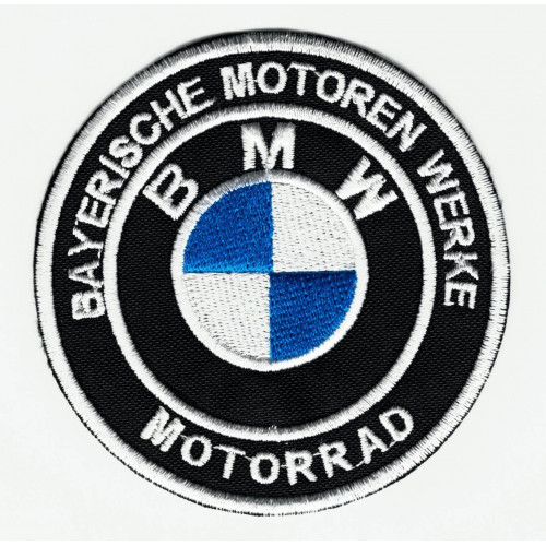 Parche bordado  BMW