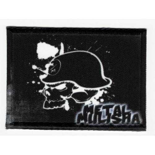 Parche textil y bordado METAL MULISHA 7.5cm