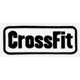 Embroidered patch CROSSFIT 20,5 cm x 7cm