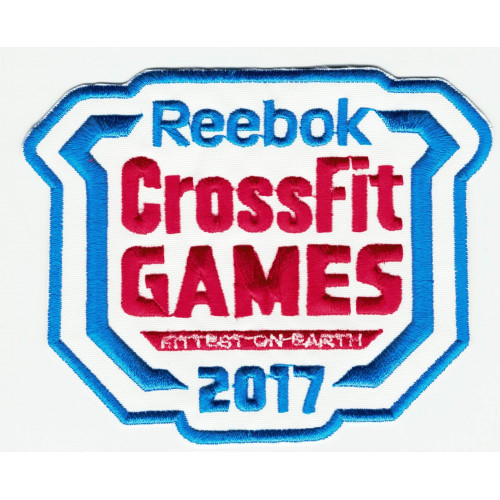 Embroidered patch CROSSFIT  10,5 cm x 8cm