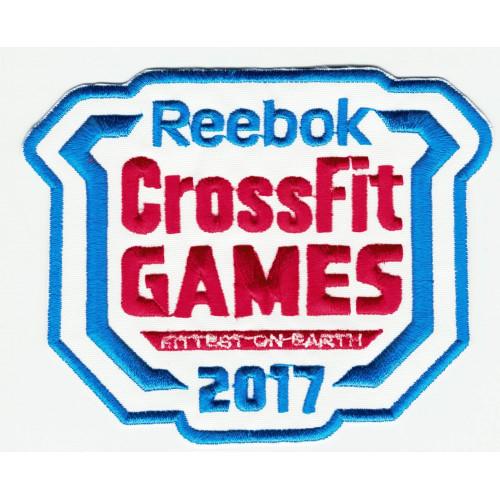 Parche bordado CROSSFIT GAMES 2017 10,5 cm x 8cm