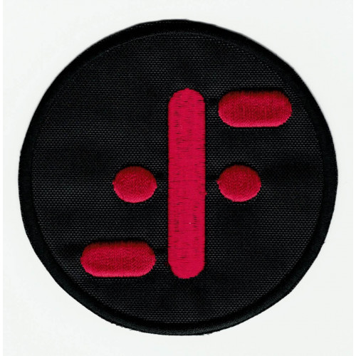 embroidery  patch  V  8cm
