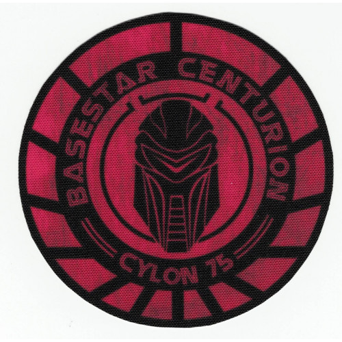 embroidery  patch  GALACTICA CENTURION  8,5cm