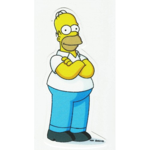 Textile patch  Homer...