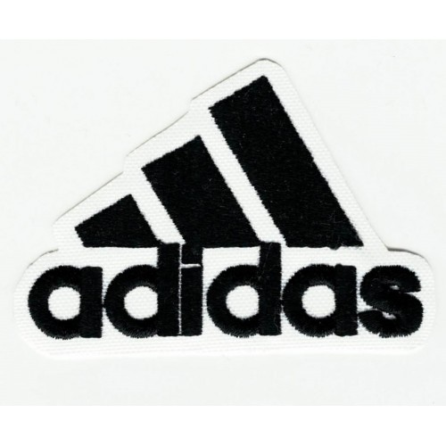 ADIDAS BLACK embroidered...