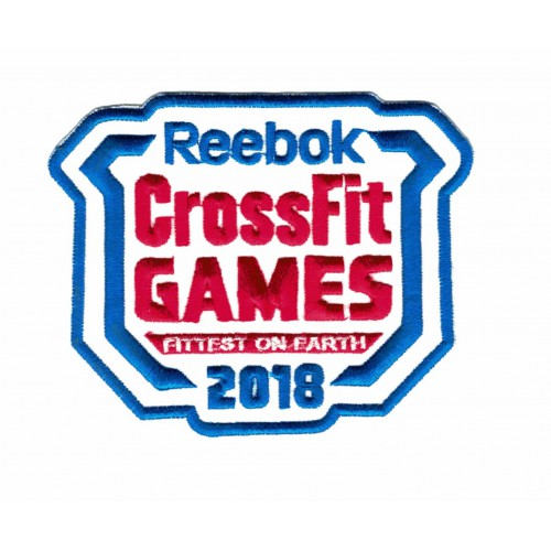 Embroidered patch CROSSFIT...