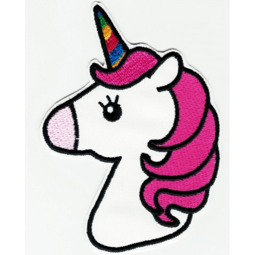 UNICORN  embroidered patch...