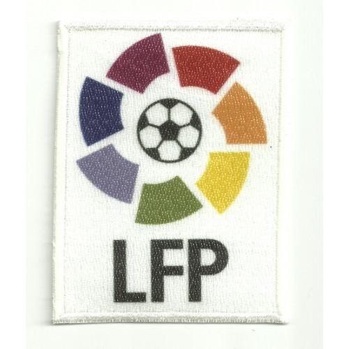 Parche  bordado y textil LFP 6,5cm x 8,5cm