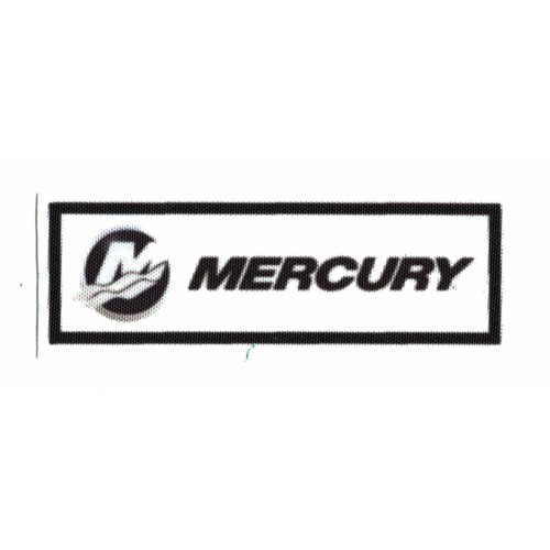 Textile patch MERCURY  9cm...
