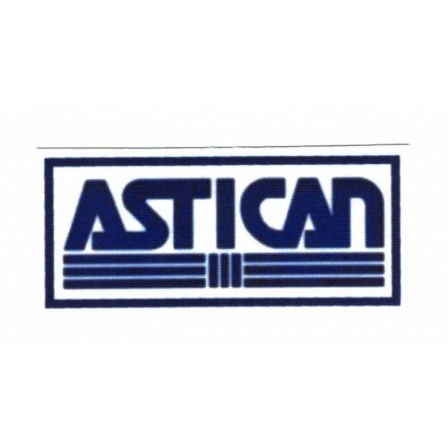 Textile patch ASTICAN 9,5cm...