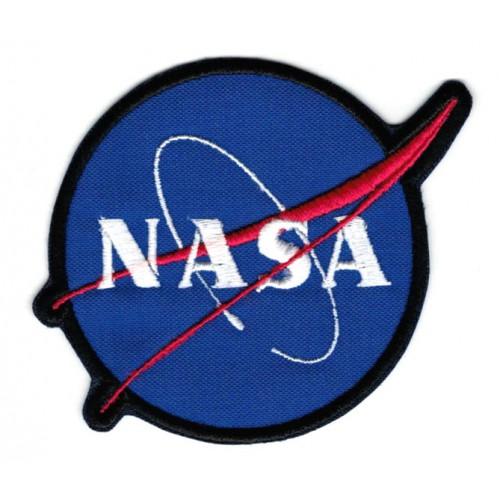 Parche bordado  NASA  8cm x...