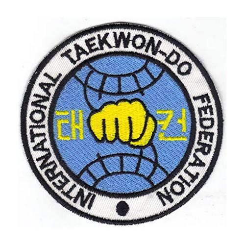 Embroidery patch TAEKWONDO...