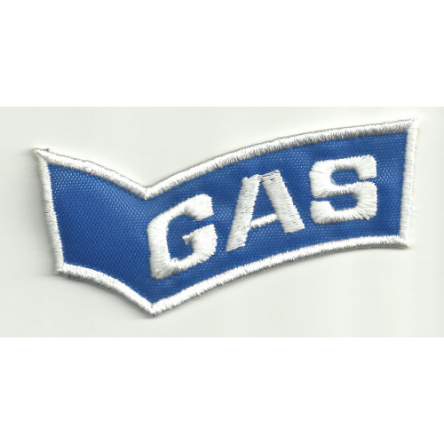 Patch embroidery GAS 80mm x 27mm
